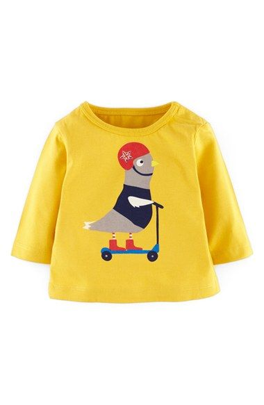 Mini Boden 'Animal Adventures' T-Shirt (Baby) available at #Nordstrom