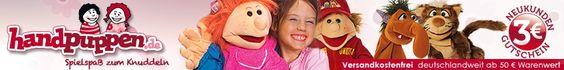 Handpuppen von Living Puppets, Folkmanis, Kallisto im handpuppen.de Onlineshop