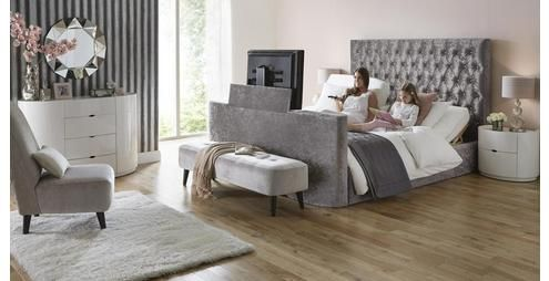 Impulse Super King Size 6 Ft Adjule Tv Bed Mattress Dfs Home Sweet Pinterest Beds And