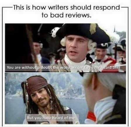 Pirates of the Caribbean - Writers - But you have heard of me