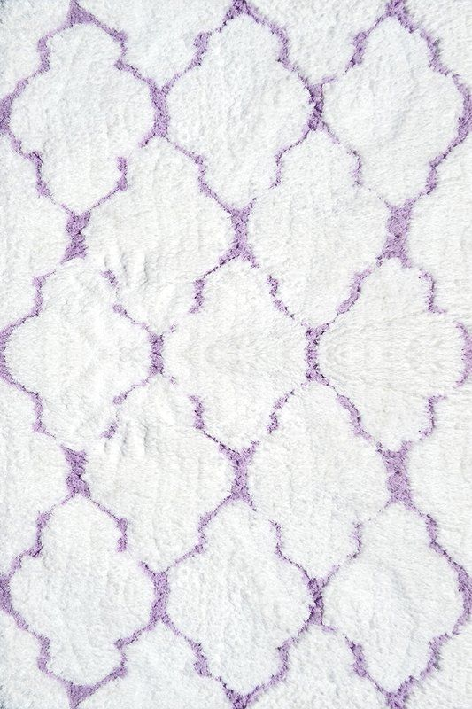 Handmade Purple White Area Rug Purple Area Rugs Purple Rug