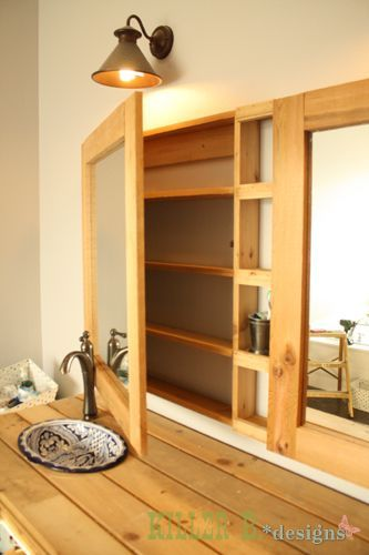 double medicine cabinet how to diy build a single with a prettier