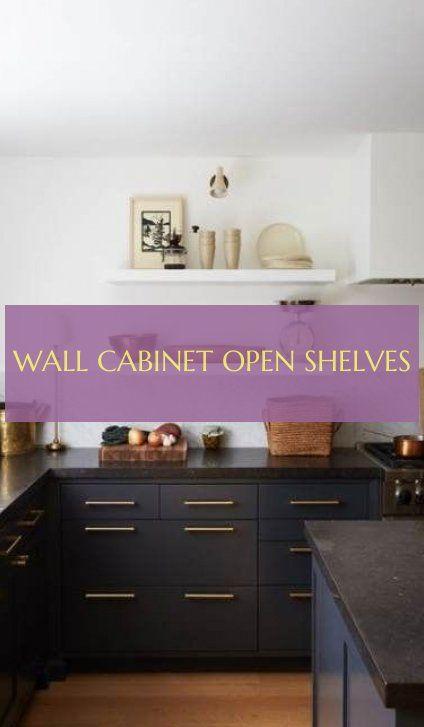 Wall Cabinet Open Shelves Wandschrank Offene Regale Mensole