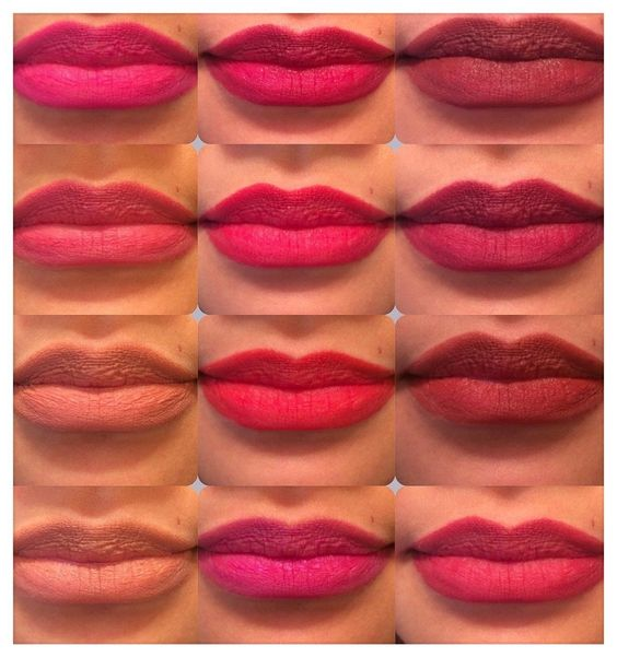 Amazon.com : 12pc Italia Deluxe Ultra Fine Lip Liner set of 12 color #1031-1051 : Beauty