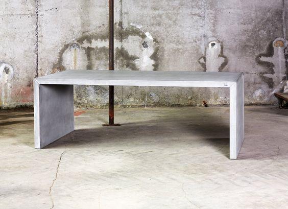 Brooklyn spisebord fiberbetong   spisebord   møbler   interiør ...