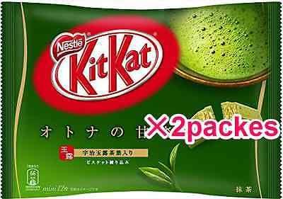#matcha #health #tea Nestle Japan KitKat Matcha Green Tea Flavor 12 mini bars 2packs. F... https://t.co/C94CnuUquN #eBay #deals #buynow