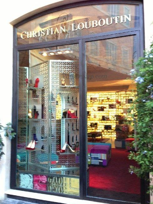 christian louboutin locations italy