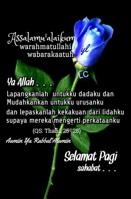 Gambar Kata Mutiara Selamat Pagi Islami Kata Kata