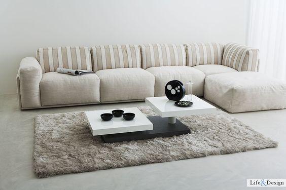 Vally: Tavolino Moderno Legno Coppia Top Quadrati. | LD Arredamento