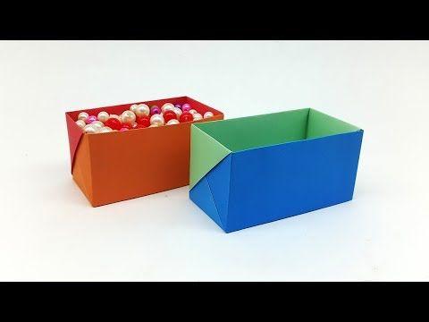 Easy Modular Origami Pinwheel Box & Lid Tutorial - Paper Kawaii ... | 360x480