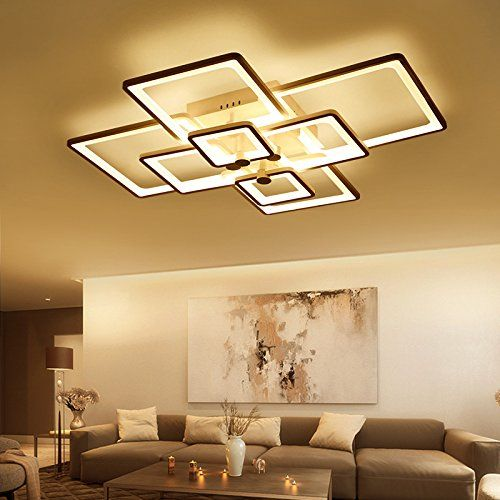 Mj House Living Room Lamp Acrylic Suction Dome Light Led Nordic