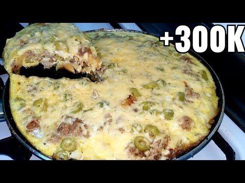 حرتي شنو توجدي للعشاء او الغداء دخلي وجدي وجبة خفيفة و سريعة في دقائق Youtube Food Breakfast Omelette