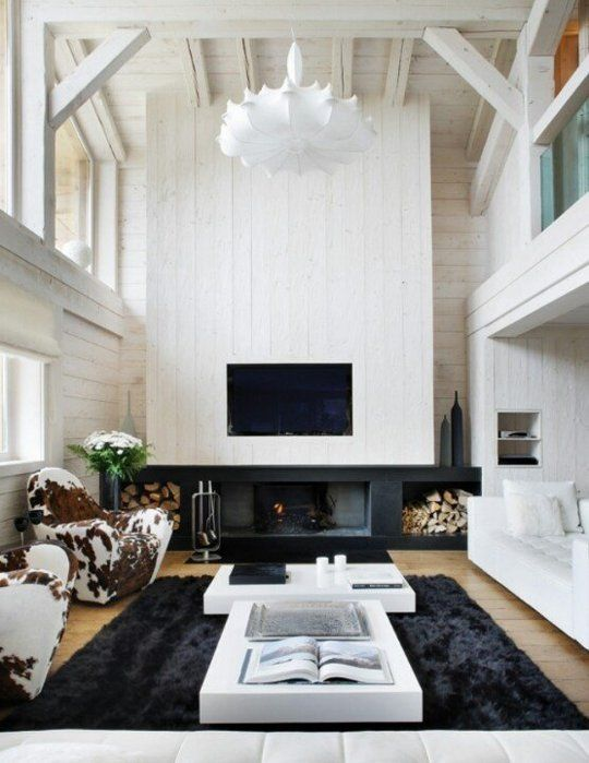 Get the Look: Modern Ski Chalet  - Apartment Therapy Main