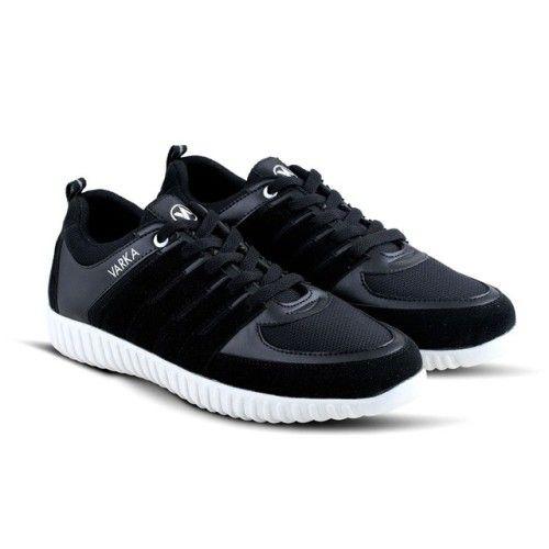 Sepatu Sporty Vrk 379 Sintetik Hitam 39 43 Rp 138 000