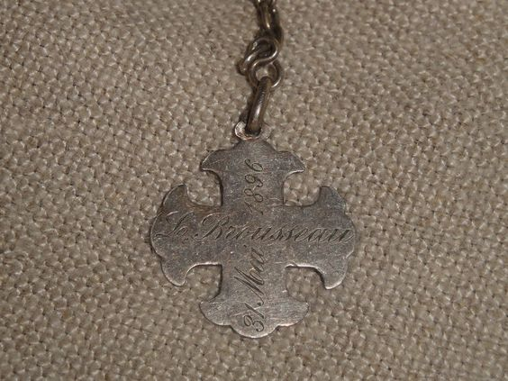 Inscription to rosary bracelet