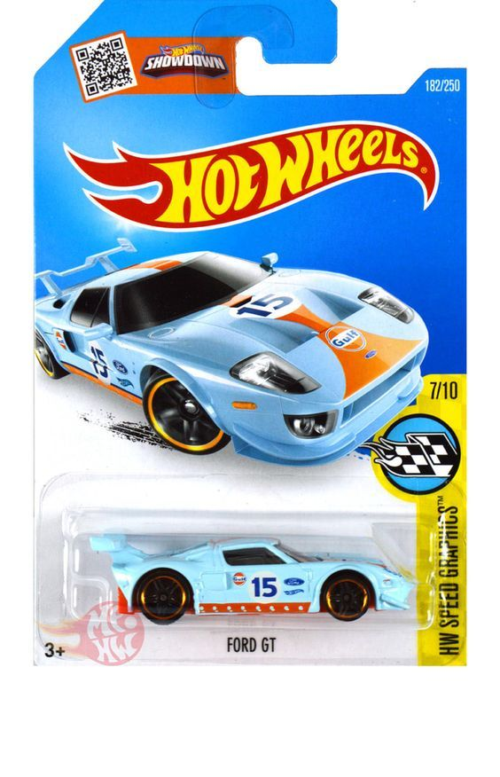 Ford Gt Blue Orange Gulf 15 Hot Wheels Have This Racing Car
