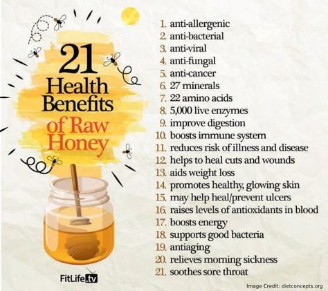 Benefits of Raw Honey Info