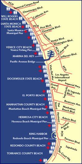 The Strand---Bike Path from Marina Del Rey Ritz Carlton up through Hermosa City Beach, Venice City Beach and Santa Monica (Spend a Day Bike Riding!)