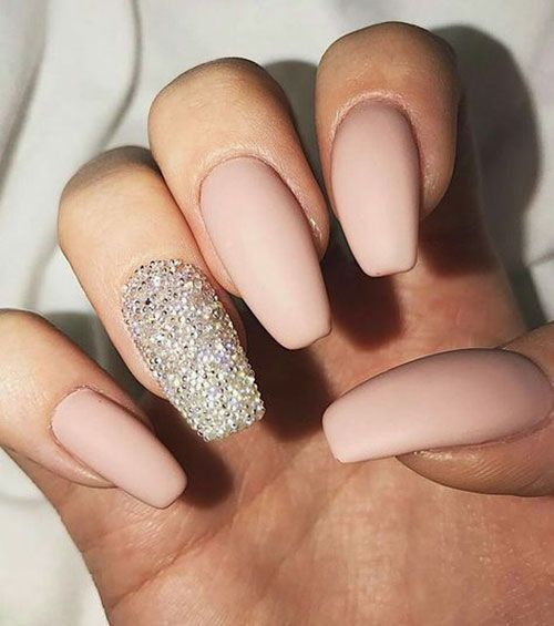 Pin On Nude Acrylic Nails