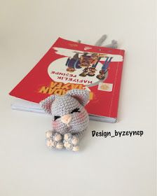 Zakładka kotek - wzór / Cat bookmark - pattern | Crochet bookmark ... | 280x224