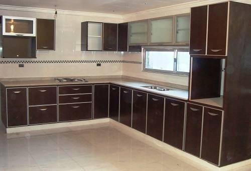 Fabrica muebles de cocina 850 melamina cantos de aluminio for Muebles de melamina