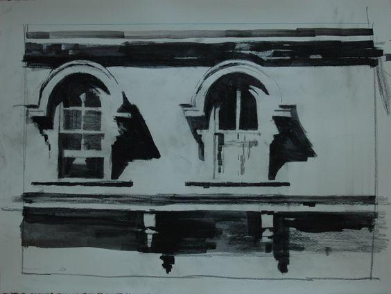 McKusick House windows no. 1  Mark Horst