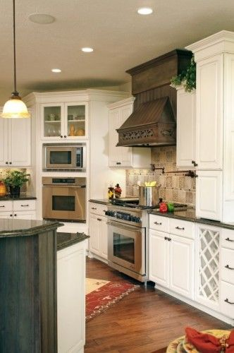 Corner stove microwave kitchen pinterest stove for Kitchen 452 cincinnati