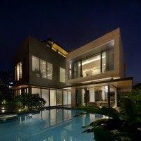 Casa Travertine Dream.Singapur/Wallflower Architecture + Design