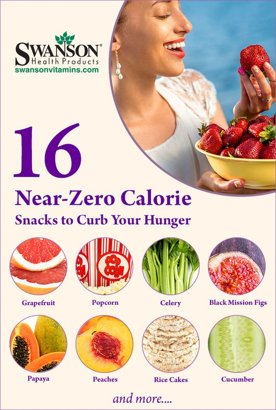 low calorie snack foods