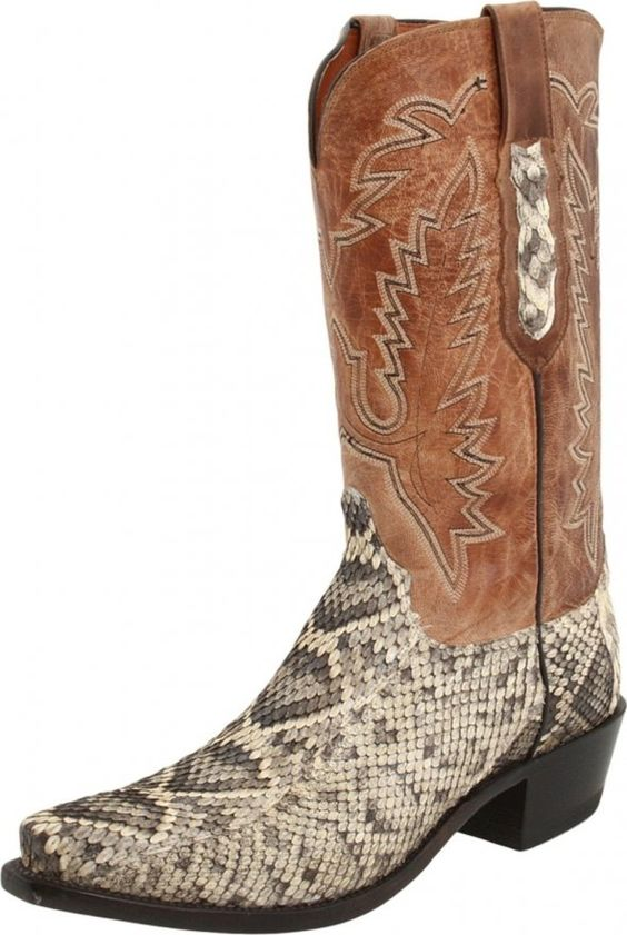 Brown Snake Skin Cowboy Boots Pinterest Brown Snake