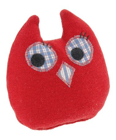 Take a look at this Luckies Knitted Owl Plush Rattle by Käthe Kruse on #zulily today!