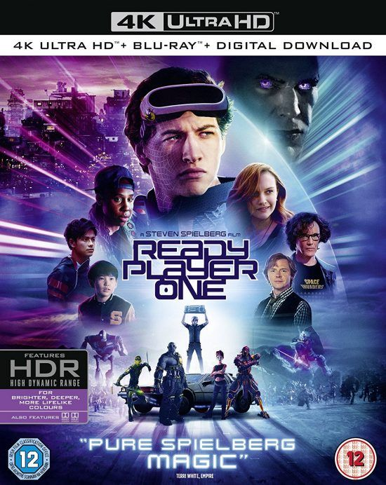 Blu Ray Review Ready Player One Live For Films Ready Player One Player One Ready Player One Characters
