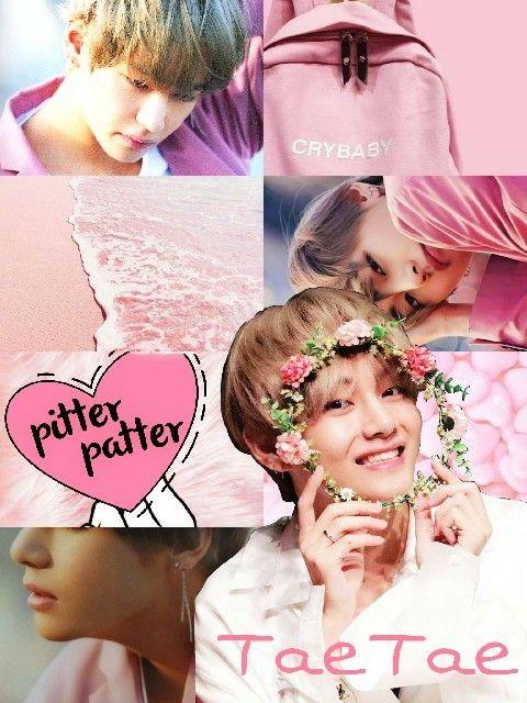 Aesthetic Pink Wallpaper Bts