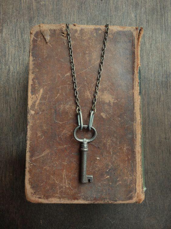Antique Skeleton Key Necklace - Significance No. 029
