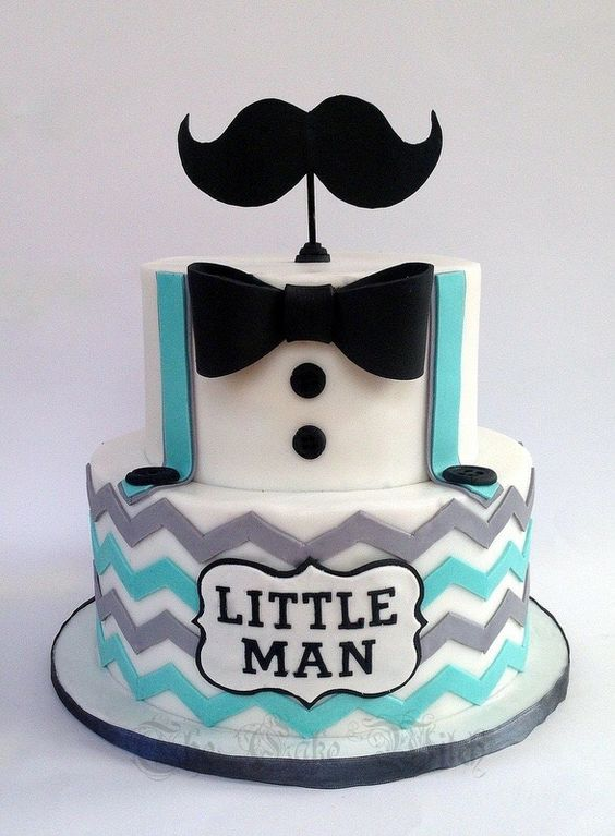 Little man moustache cake birthday baby shower cake cakes: