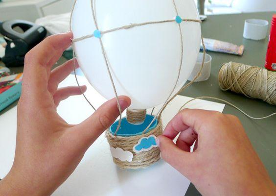 Manualidades con globos: Globos Chocolistoylisto, Crafts With, Manualidades Fáciles, Manualidades Didacticas, Manualidades Buscar, Globos Voladores, Con Globos, Crafts