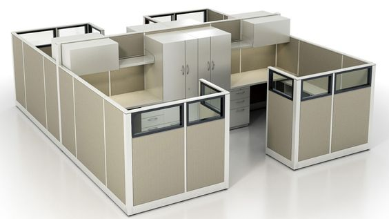 Office Cubicle Dimensions | Cube Styles | Pinterest | Office Cubicles,  Cubicle And Office Furniture