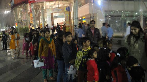 Krrish 3 at Magneto Mall Raipur 2013