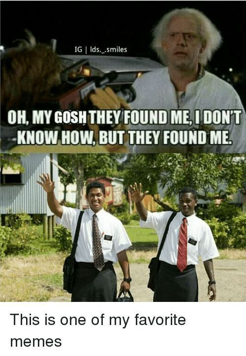 Pin On Lds Jokes And Memes