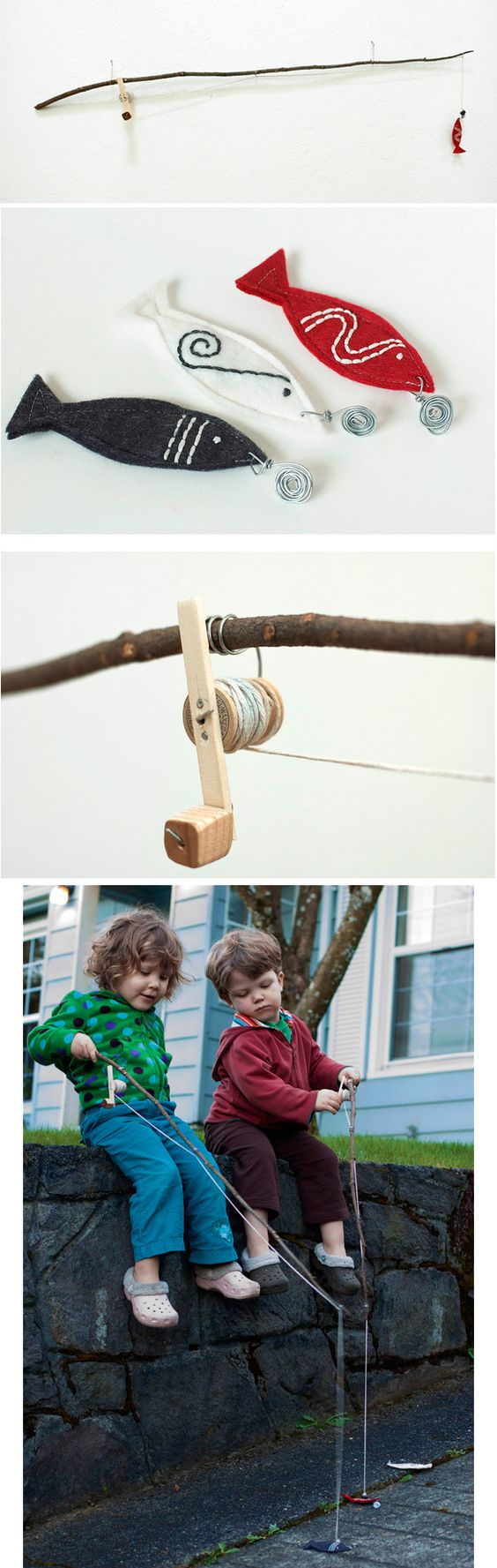 39 coolest kids toys you can make yourself fishing poles for Kids fishing poles