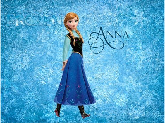 Frozen Anna Poster By Nozboltbiz