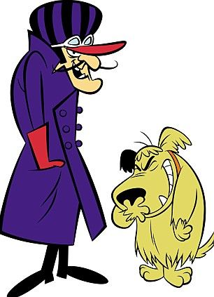 muttley cartoon character | CARTOON CAPERS: Dastardly and Muttley - or is it Abramovich and Kenyon ...:
