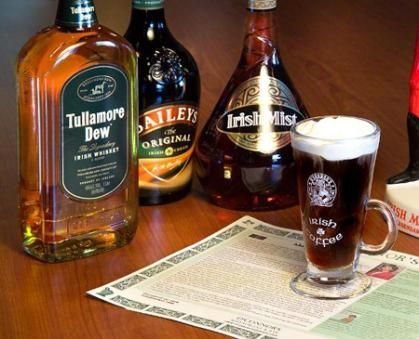 All Irish Drinks - Guinness, Whiskey (Jameson, Black Bush, Bushmills ...