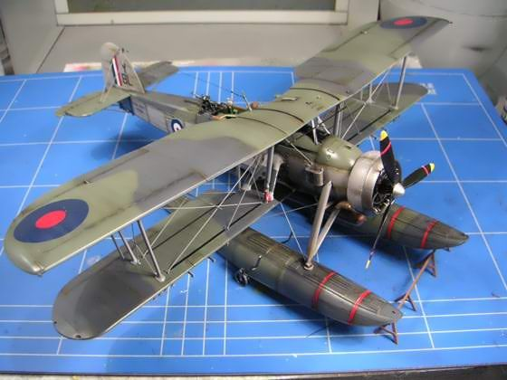 Fairey Swordfish Mk.I Floatplane, Tamiya 1:48 by Chris Schmid