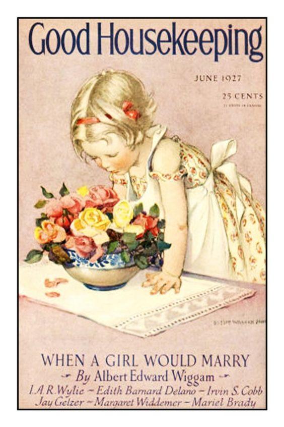 Jessie Wilcox Smith, Good Housekeeping Magazine,1927: