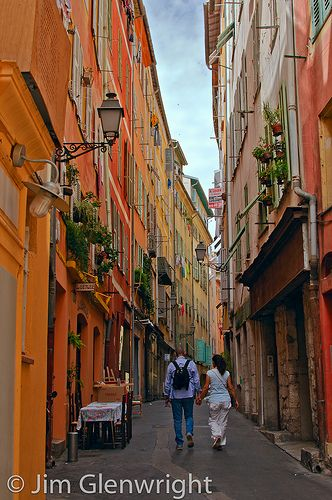 Lovers Lane - Vieux Nice, France