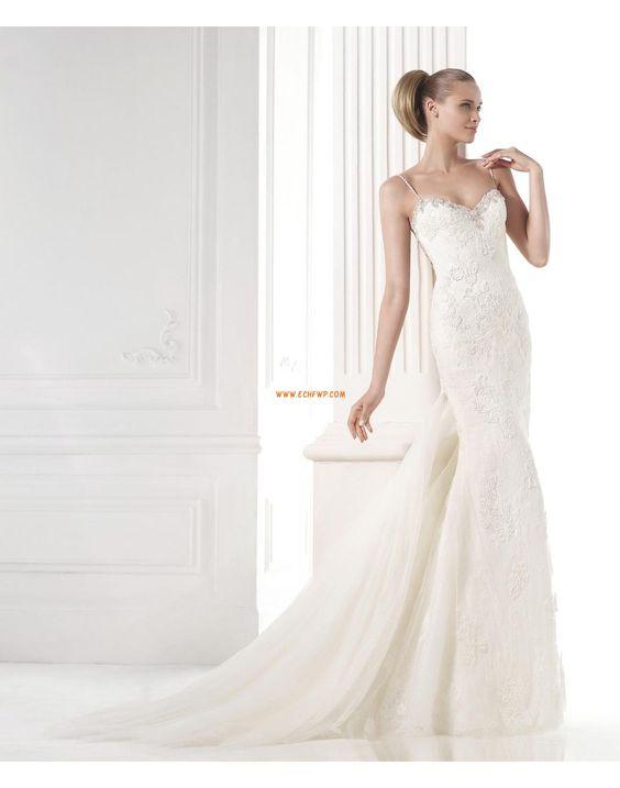 Inspiration vintage Col en cœur Empire Robes de mariée 2015