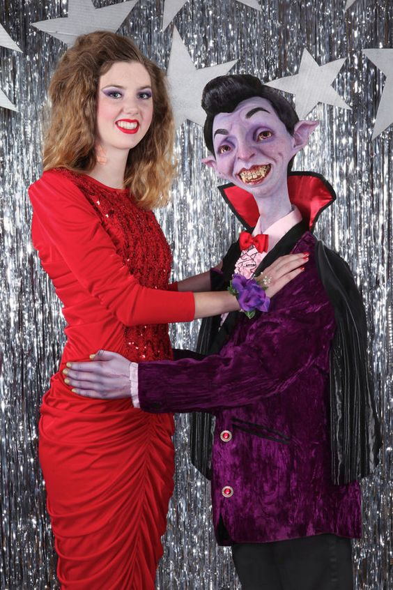Monster Prom Photography - This Prom Photo Series Uses Iconic Monsters to Portray Insecurities (GALLERY)