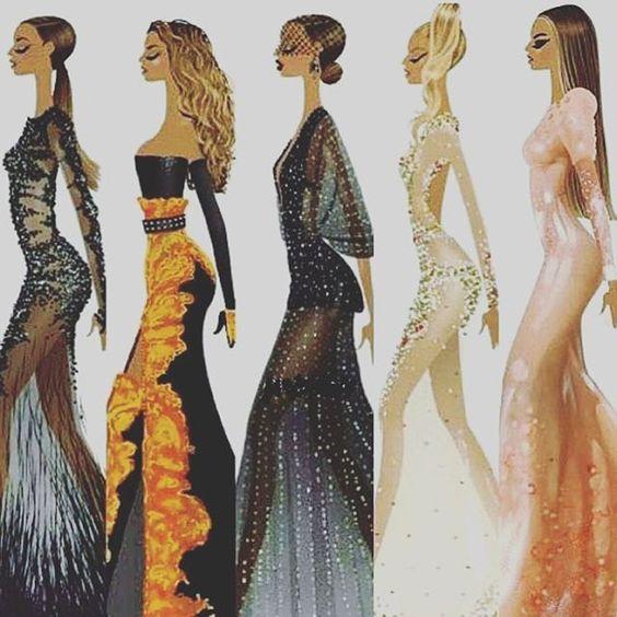 Beyoncé Met Gala 2012 - 2016