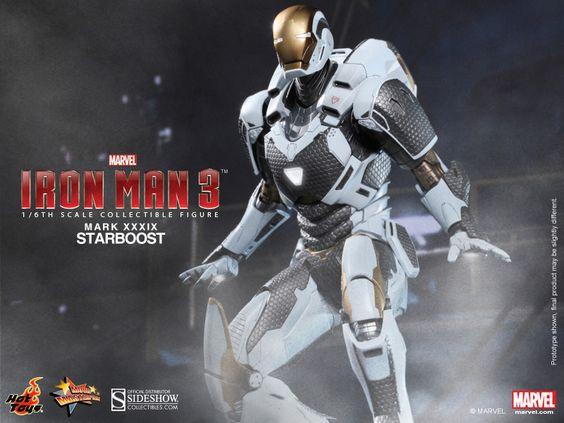 Starboost | Mark XXXIX | Iron Man 3 | Hot Toys | Sixth Scale Figure | JCG